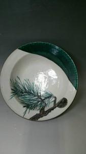 九谷焼浅蔵五十吉飾皿