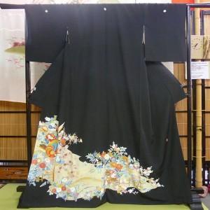 世田谷の着物、黒留袖の買取例