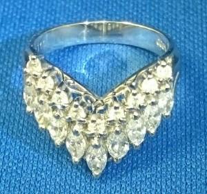 ダイヤ、プラチナリング