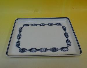 エルメス 角皿 シェーヌダンクルプレート