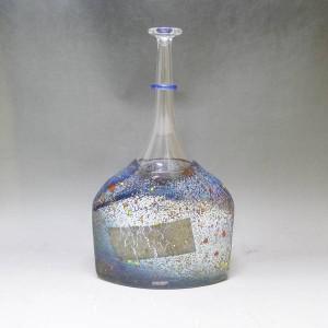 コスタボダ KOSTA BODA 花瓶 一輪挿し 北欧ガラス