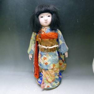 市松人形の写真