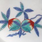 今泉 十三代 今右衛門 錦花絵皿 重要無形文化財 人間国宝