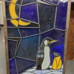 ペンギン ステンドガラスの出張買取