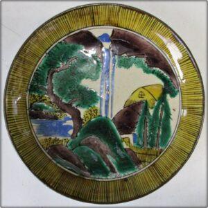 九谷焼豆皿松山窯