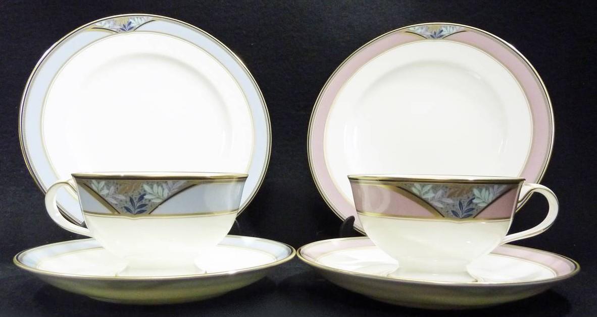 Noritake (ノリタケ)カップ&ソーサー デザート皿
