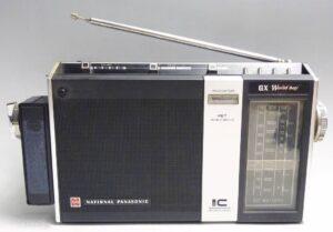 レトロ National Panasonic GX World boy ナショナル パナソニック ラジオ RF-858