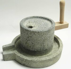 イシガキ産業 石臼 いしうす 蕎麦挽 和風 インテリア